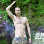 Woof in the New Year! Furry Hunks of Cub Camp's 2014 Calendar