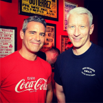 Anderson Cooper and Andy Cohen Toast New Gay Bar