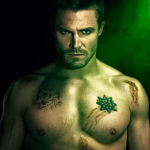 Shirtless 'Arrow' Posters Hit Their Target