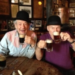 WATCH: Ian McKellen & Patrick Stewart Play the Newlywed Game