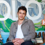 James Franco Plays House in Hollywood Forever Cemetery