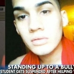 Teen Gets Suspended for Defending His Bullied Gay Classmate