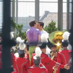 WATCH: Kurt and Blaine Kiss on the 'Glee' Set