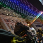 Rome's Rainbow Christmas Lights Shine for LGBT Acceptance