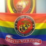 Proud Gay Marine Gets Touching Goodbye Gift