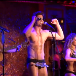 WATCH: Out Broadway Stud Nick Adams Sings in His Skivvies