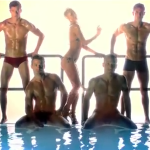 WATCH: Shirtless Male Models Save Paris Hilton's Party