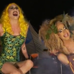 WATCH: Sharon Needles and Alaska Pitch a Tent