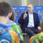 Putin to Gays: Stay Away From Kids and You'll Be Safe