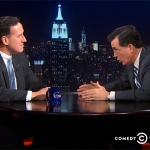 WATCH: Santorum Tells Colbert Heteros Have Lost Marriage