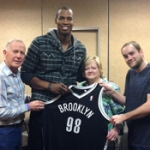Photo of the Day: Jason Collins Meets Judy Shepard