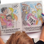 LGBT Equality Organization Sending Gay Olympic Coloring Book to Russian Kids