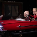 Erasure and the Fantastic Flying Christmas Car!