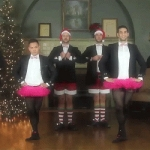 Gay Men's Chorus Spoofs the Joe Boxer Christmas Ad