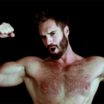 Hairy Hunk Marc Buckner Shows How to Charm the Camera