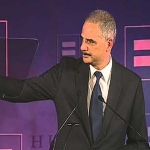 Attorney General Explains New Benefits for Same-Sex Couples in HRC Speech