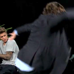 WATCH: Justin Bieber Gets a Good Spanking