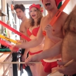 WATCH: Nick Adams and The Skivvies Drum Up Christmas