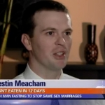 Man Stops Eating to Protest Utah's Same-Sex Marriages