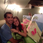 This guy proposed to his girlfriend with a painting!